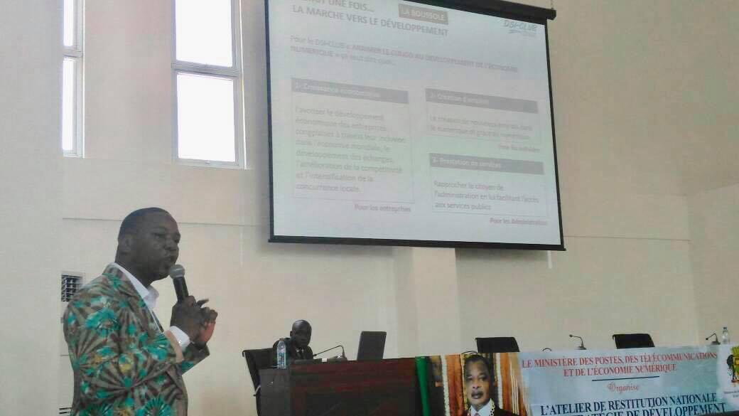 Stratégie nationale de développement de l'économie numérique: Le Dsi-Club Congo, invité à partager son expertise